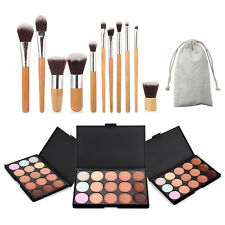 15 Colors Concealer Kit With Brush Face Makeup Contouring Cream Palette#1,#2