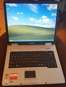 """Toshiba Satellite Pro L10 PSL15E Laptop Notebook 15"""" 512MB 80GB Windows XP"""