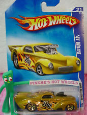 2008 i Hot Wheels 41 WILLYS Coupe #61/172 variation yellow-gold