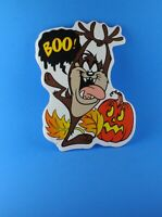 Looney Tunes Tasmanian Devil Boo Plastic Halloween Yard Art Decoration Sign 90's