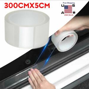 Car Door Plate Sticker Protector Sill Scuff Cover Bumper Body Anti Scratch Strip