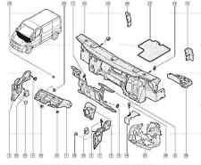 Vera RENAULT TRAFIC II MOTOR Isolamento Acustico Del Rumore assorbente 8200315565