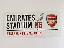 Olivier Giroud Hand Signed Arsenal Street Sign Emirates Stadium.