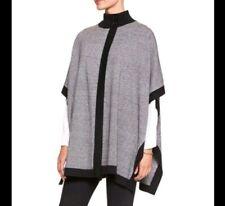Banana Republic Women's XS/S Gray Black Cape-sleeve Knit Cardigan Sweater EUC
