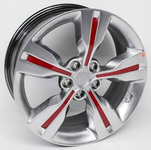 OEM Hyundai Veloster 18 inch Wheel 52905-2V250-P9R Deep Marks