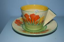 More details for a very rare clarice cliff coffee cup & saucer