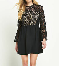Long Sleeve Lace Short/Mini Dresses Plus Size for Women