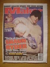 MELODY MAKER 1998 FEB 21 RYDER BLACK GRAPE NEW ORDER