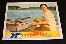 1966 Namu The Killer Whale Lobby Card 66/261 #2 Ivan Tors (C-7)