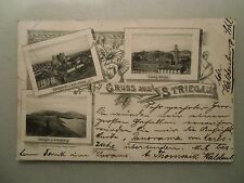 Ansichtskarte Schlesien Striegau 1898