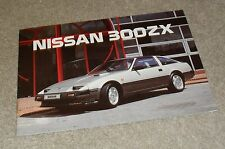 Nissan 300ZX & 300 ZX Turbo Z31 Rare Sales Brochure 1986