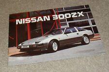 Nissan 300ZX & 300 ZX Turbo Z31 Rare Sales Brochure 1986