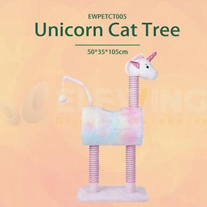 Cat Scratch Unicorn Climbing Tree Scratching Broad Multi-use Cute FREE POSTAGE