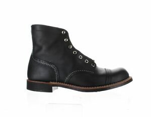 Red Wing Mens Heritage Black Harness Ankle Boots Size 9 (2194364)