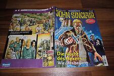 Geisterjäger JOHN SINCLAIR Comic  # 1 -- die NACHT des HEXERS / wie alles begann