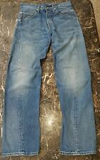 Vtg Levi's Twisted Engineered Buckle Back Straight Jeans Deadstock sz 33x32 RARE