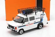 1/18 Ixo Ford Transit Mk II 1979 rally assistance David Jones 18RMC033XE