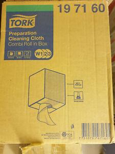197160 TORK Premium 420 Fleece White W1 W2 W3 Cleaning Cloths