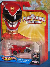 HOT WHEELS POWER RANGERS MEGA FORCE RED RANGER DRAGON ZORD **BRAND NEW & RARE**