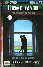 UBRIACO D' AMORE  (2002) VHS Columbia Video    Adam Sandler Emily Watson