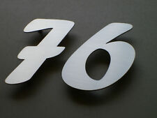 Marine Grade 3D House Numbers Stainless Steel 200mm