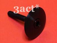 "1-1/8"" Titanium/Ti Headset Cap & M6 x 35mm Bolt Black -Chris King FSA Cane Creek"