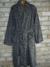 State O Maine  Cozy Soft PLUSH gray BATH ROBE NWT One Size Fits Most