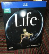 BBC EARTH - LIFE 4-DISC BLU-RAY SET, NARRATED BY DAVID ATTENBOROUGH, 130 STORIES