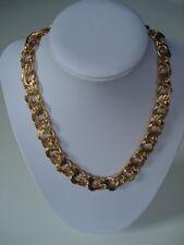 ANNA VALERIE ADOLF Halskette Statement Kette Glieder Goldkette 18 Kt vergoldet