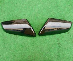 Factory Chevrolet Equinox Mirror Covers Pair Two Black OEM 22063012 22063011