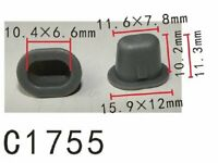 20pcs Trim Panel Clips Prairie Tan Windstar For Ford N807154-S Autobahn88