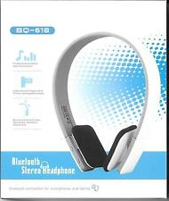 New Wireless Bluetooth Noise Reduction Stereo Headphones Mic Smartphones Tablets