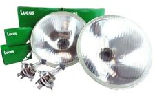 Genuine Lucas H4 Halogen Headlight Headlamp Lighting Kit MGA MGB