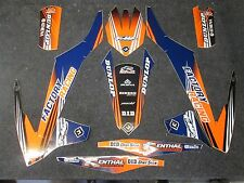 KTM SX/SXF 125-450 2016-2018 Flu Designs PTS 2 Factory Team graphics  GR1532