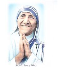 Catholic Poster  Image Saint Teresa Sw Matka Teresa Kalkuty