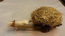 1 gruppo carro fieno per pastori landi 6-6.5 cm presepe crib shereped
