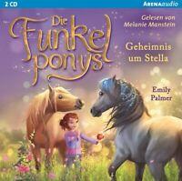 DIE FUNKELPONYS (2).GEHEIMNIS UM STELLA - PALMER,EMILY  2 CD NEW