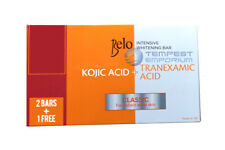 Belo Intensive Whitening Bars Kojic Acid Tranexamic Acid Soaps 3 x 65g