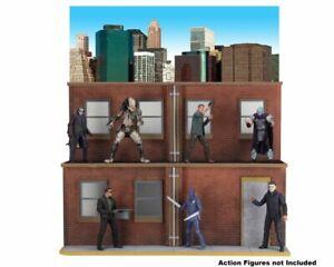 NECA Originals - Street Scene Action Figure Diorama - NECA (PLEASE READ FULLY)