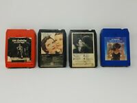 Vintage Lot of 14 Soft Rock Pop Music 8-Track Tapes Untested 1970s