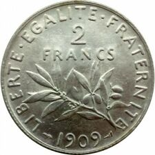 FRANCE 2 FRANCS SEMEUSE 1909 SUP