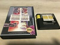 Technoclash (Sega Genesis, 1993) Authentic Tested Works Fast Shipping