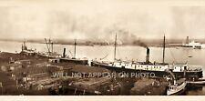 "1909 Mobile Alabama, Waterfront, Vintage Panoramic Photograph 43"" Long"
