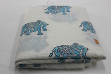 indian cotton soft Hand Block Print Cotton Voile Fabric Sewing 10 Yards SSTH77