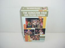 Kingston Trio  Friends The Reunion VHS Video Tape Movie Music