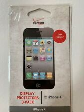 iPhone 4 DISPLAY PROTECTORS ANTI-DUST ANTI-SCRATCH 3-PACK NEW NEVER OPENED