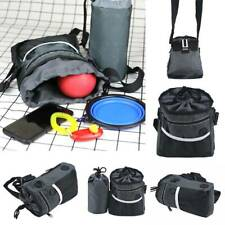 Dog Walking Training Obedience Treat Pouch Portable Pet Puppy Snack Belt Bag SM