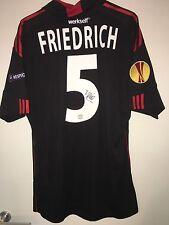 Bayer 04 Friedrich 5 Match Prepared Shirt Formotion Europa League Signed