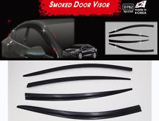 Smoked Window Visor Rain Vent Sun Shield 4Pcs D762 for Chevy Cruze Sedan 2016~19
