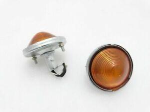 WILLYS JEEP CJ-3B CJ3 CJ5 CJ6 TURN SIGNAL AMBER LIGHT INDICATOR